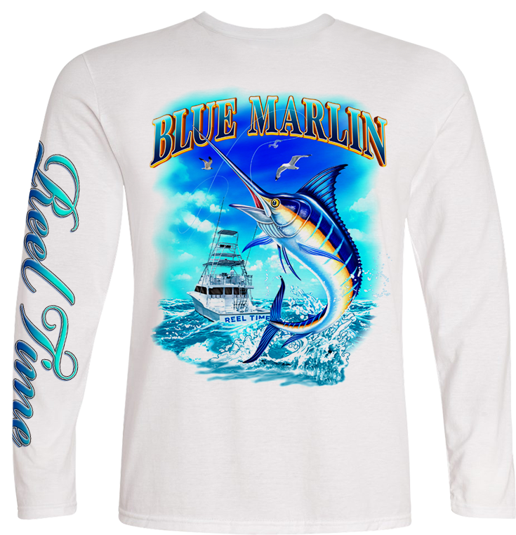 Marlin Catch (Kids) - - Kids Tees | Long Sleeves