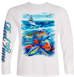 Action Waters (Kids) - - Kids Tees | Long Sleeves
