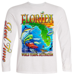 Florida Map (Kids) - - Kids Tees | Long Sleeves