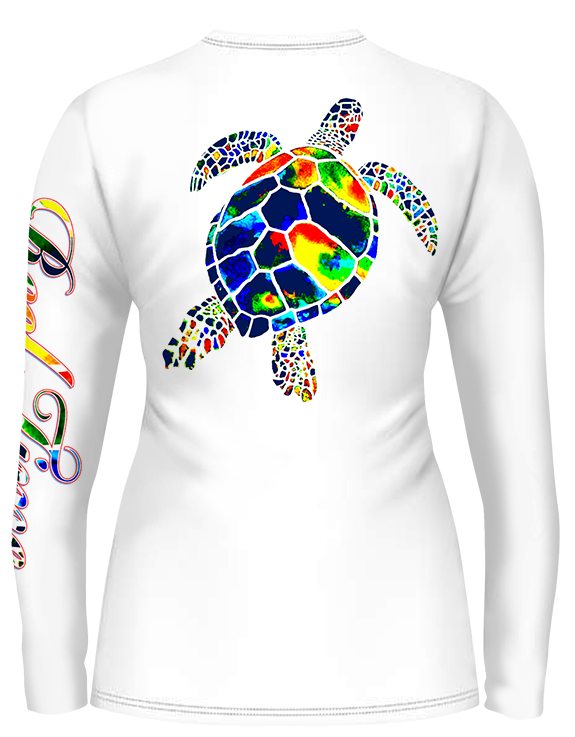 Turtle Scoop Neck (Ladies) - - Ladies Tees | Long Sleeves