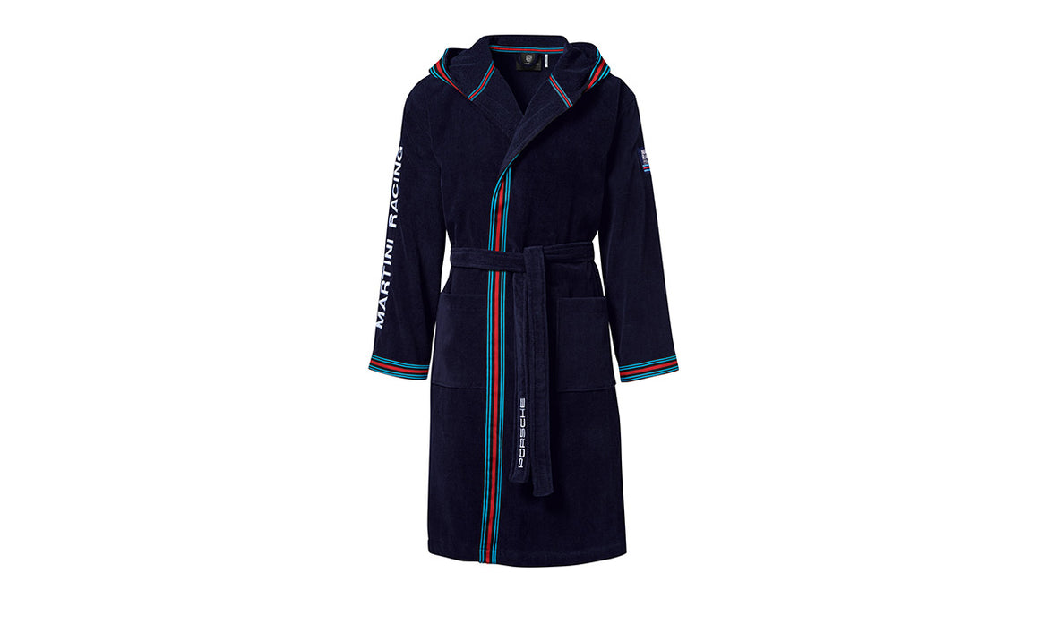 Bathrobe - Martini Racing, Unisex, Dark Blue