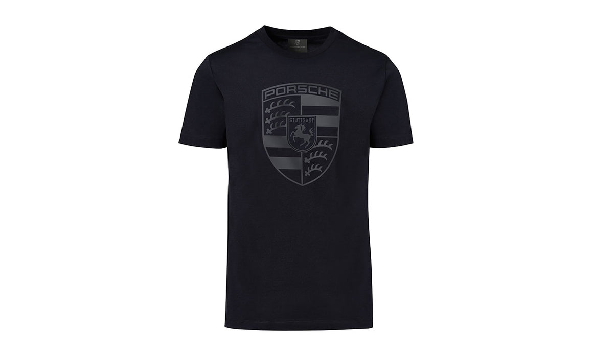 Porsche Crest T-Shirt, Black, Men