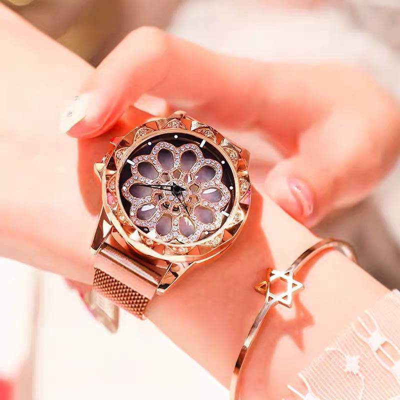 Victoria Crown 2019 Turntable Women Casual Luxury Watch