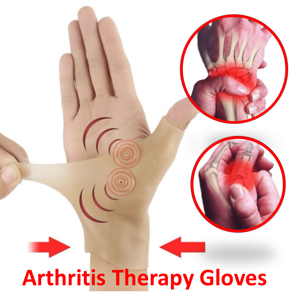 Arthritis Wrist & Thumb Therapy Gloves