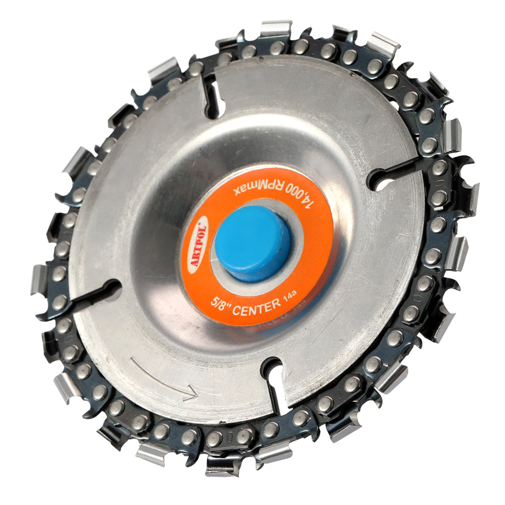 MULTI-FUNCTION 4 Inch Grinder Disc and  Chain