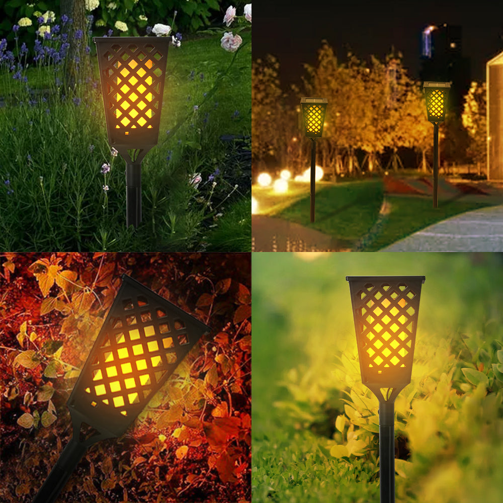 Solar Dancing Flame Light Waterproof