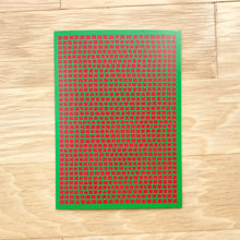 Load image into Gallery viewer, Green & Red Christmas Cards (Blank Inside), Elaine Kuckertz