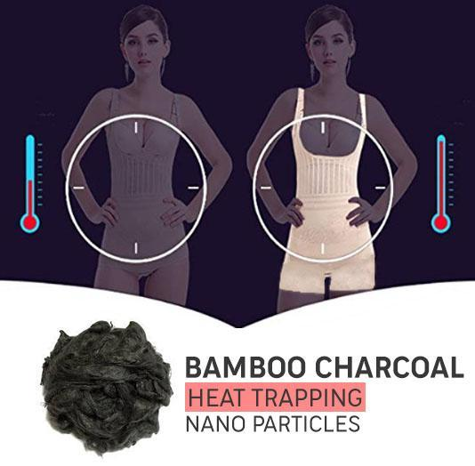 Magic Bamboo Charcoal Thermal Hot Body Shaper
