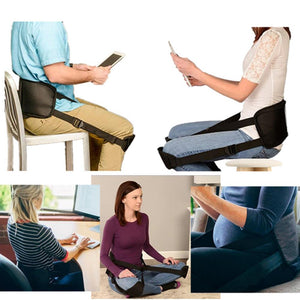 Yoga Straps-Correct Back Posture While Sitting, Featured on Shark Tank, Doctor Recommended (Back Support Belt)