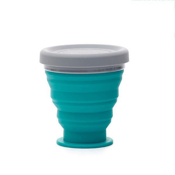 Collapsible Camping Bowl-Outdoors & Sports-bsubuy.com-Blue-S-