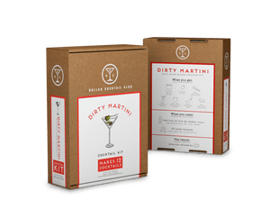 Dirty Martini Cocktail Kit (Makes 12 Cocktails)