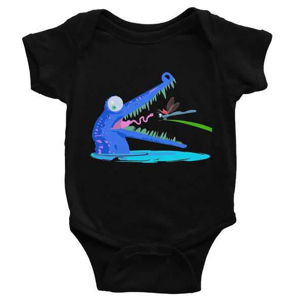 Croc Teeth Baby Bodysuit