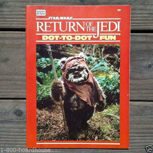 STAR WARS Return of the Jedi Dot to Dot Book 1983