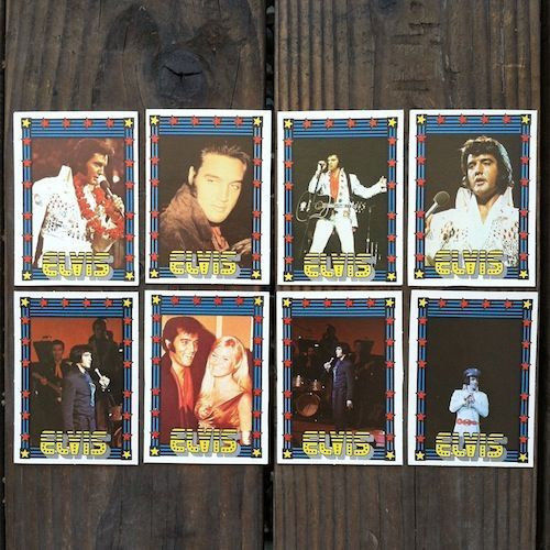 16 ELVIS PRESLEY TRADING 1970s Trading Cards
