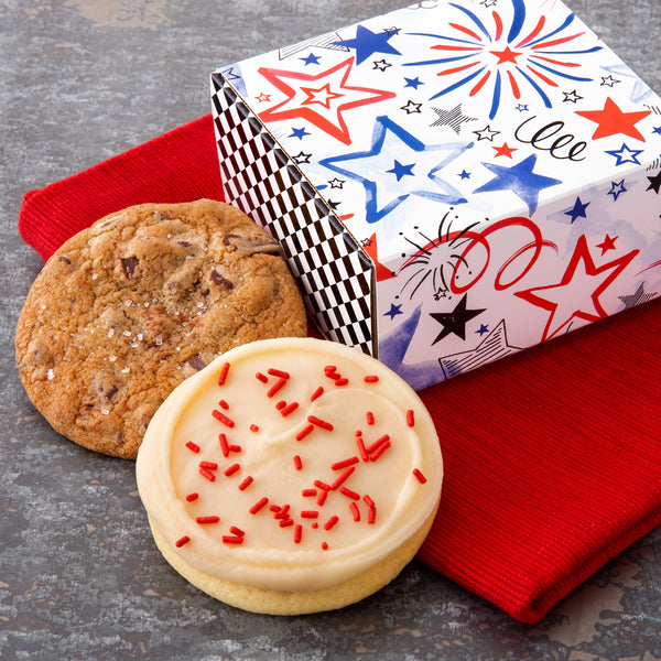 Cookies Are Best When Shared - Patriotic