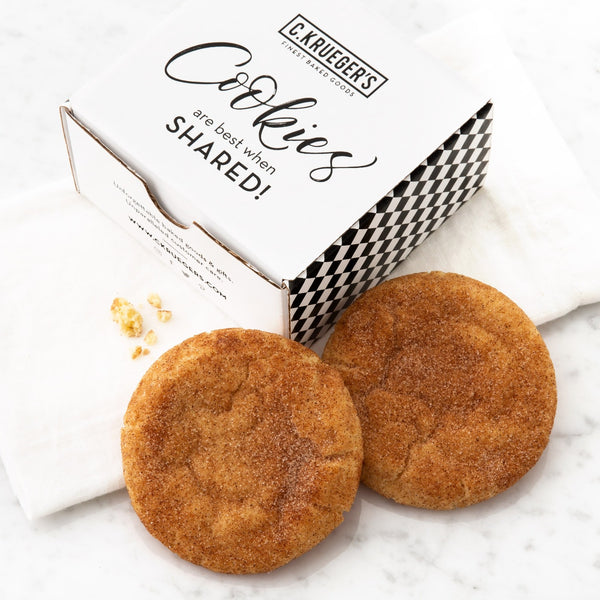 Cookies Are Best When Shared - NEW Snickerdoodle Cookies
