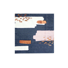 Harlow and Grey Erika Navy Abstract Cocktail Paper Napkins