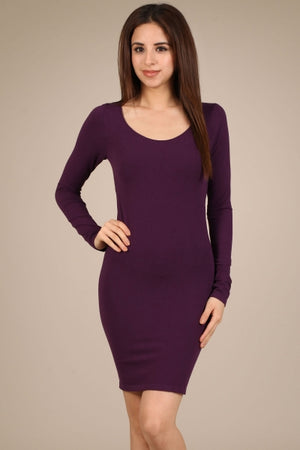 S2158 M.Rena Long Sleeve Scoop High Neck Extender