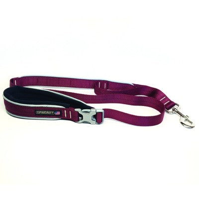 Spindrift Soft Handle Reflective Safety Leash - 10 Colors