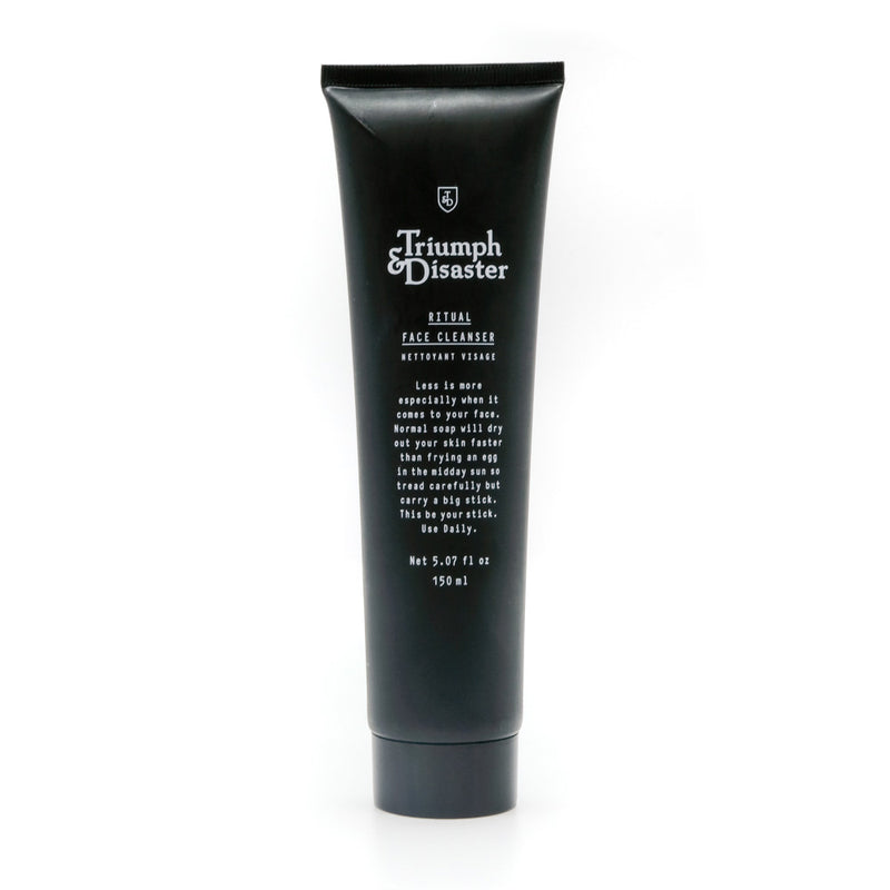 mens grooming products, mens hair products, male grooming tools, skincare, male skincare, Hair, Sydney, Australia, barber, male grooming, mens retail, male style, conditioner, online shopping, mens gifts, barberhood, barbershop, Triumph and Disaster ritual face cleanser, clear skin