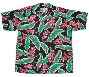 Tropic Banana Retro Hawaiian Shirt