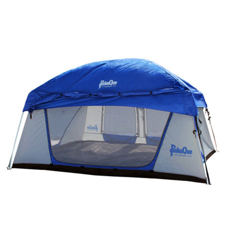 PahaQue Promontory XD 8 Person Cabin Style Tent Blue and White