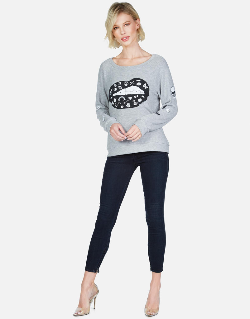 Brenna Elements Lip Long Sleeve