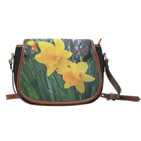 Image of Saddle Bag - Irish Spring Daffodils Saddle Bag Moods of Ireland