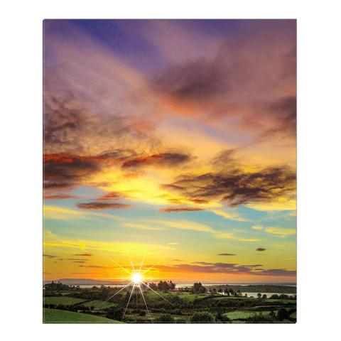 Canvas Wrap - Autumn Sunrise over Shannon Estuary Canvas Wrap Moods of Ireland 20x24 inch