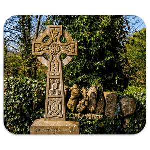 Mousepad - Celtic Cross at Dysert O'Dea Graveyard, County Clare Mousepad Moods of Ireland 7.79x9.25 inch
