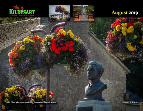 2019 This is Kildysart County Clare Ireland Wall Calendar Calendar Moods of Ireland