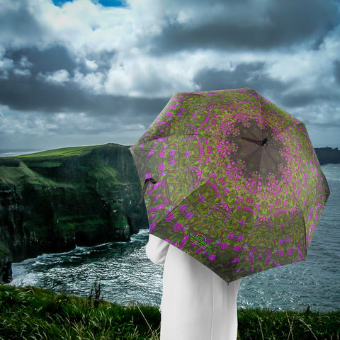 Image of Umbrellas - Herb Robert Merry-Go-Round Umbrella Moods of Ireland
