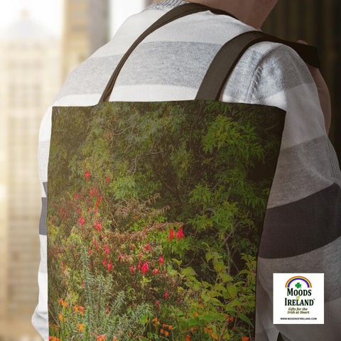 Tote Bags - Irish Summer Wildflowers Tote Bag Moods of Ireland