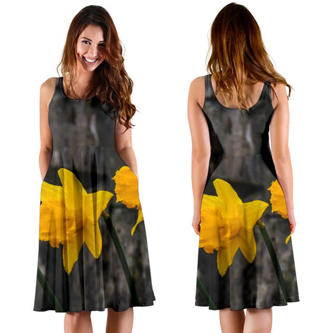 Image of Midi Dress - County Clare Daffodils Midi Dress Moods of Ireland