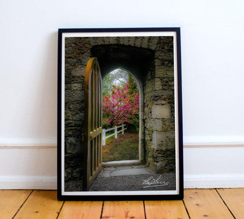 Image of Into Irish Spring, Enchanted Art Poster Poster Moods of Ireland