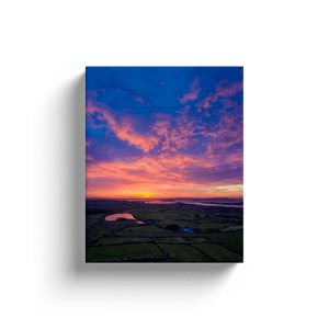 Canvas Wraps - May Sunrise over Ireland's Shannon Estuary, County Clare Canvas Wrap Moods of Ireland