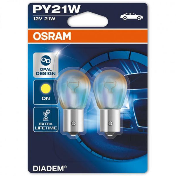 Diadem PY21W 581 Styling Indicator Bulbs (Twin Blister)