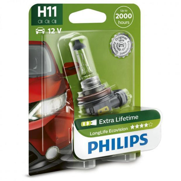 Longlife EcoVision H11 Headlight Bulbs (Single)