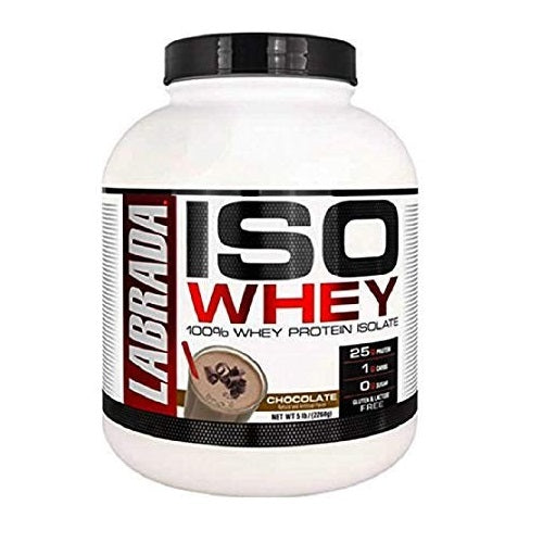 LABRADA ISO WHEY ,5 LBS(71 SERVINGS).