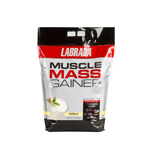 LABRADA MUSCLE MASS GAINER, 12 LBS.