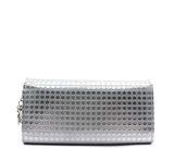 Christian Dior Croisiere Chain Wallet Micro Cannage Perforated Calfskin