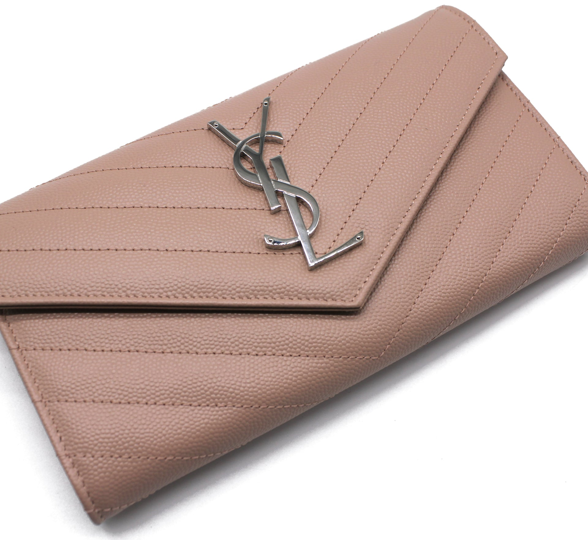 Saint Laurent Monogram Envelope Wallet