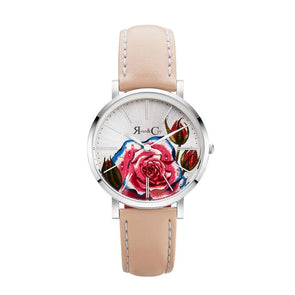 ART SERIES PINK ROSE ULTRA SLIM 34MM シルバー ピーチ - Rose&Coy Japan