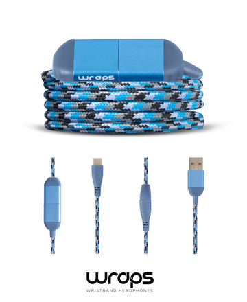 WRAPS USBC-USB Charge Cable