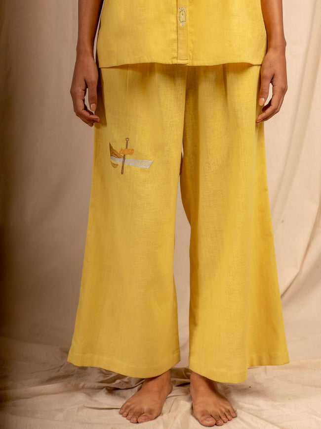 Dal Porto Trousers - SKIRTS & TROUSERS - IKKIVI - Shop Sustainable & Ethical Fashion