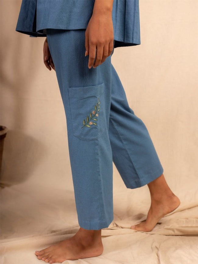 Dalla Riva Trousers - SKIRTS & TROUSERS - IKKIVI - Shop Sustainable & Ethical Fashion