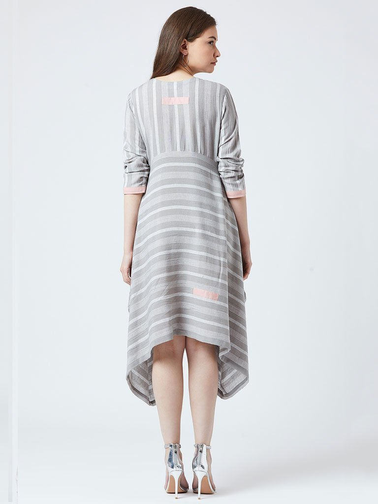 Stripe Oversized Dress