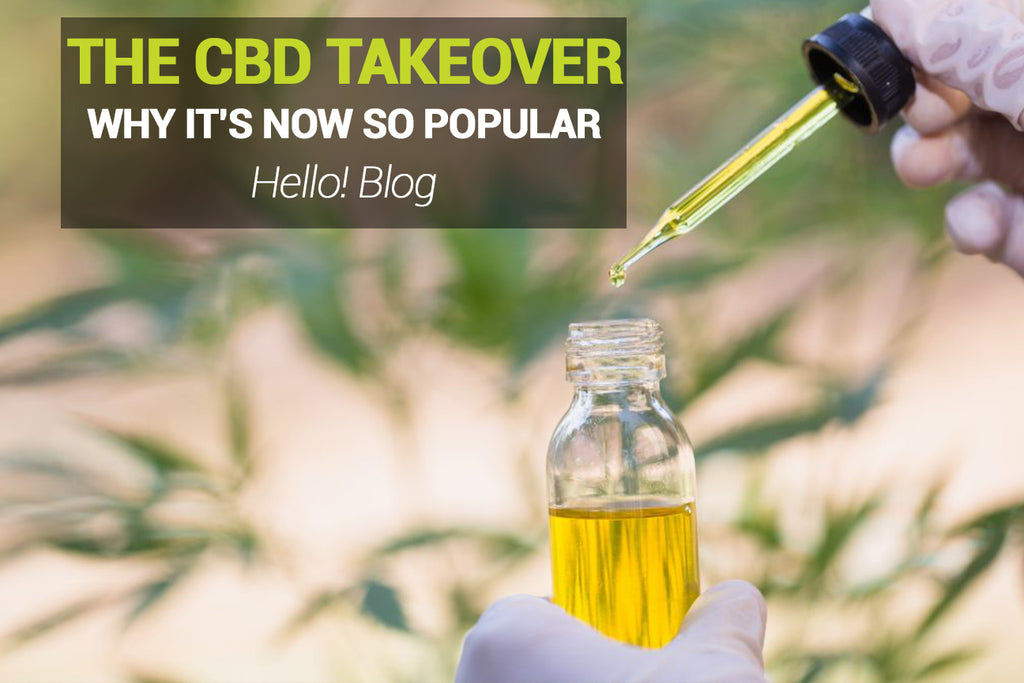 Why Is CBD & Hemp Becoming So Popular!