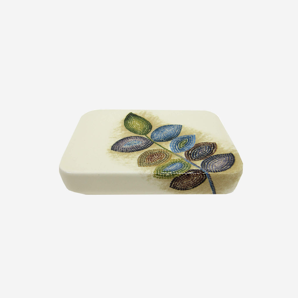 Mosaic Leaves Soap Dish