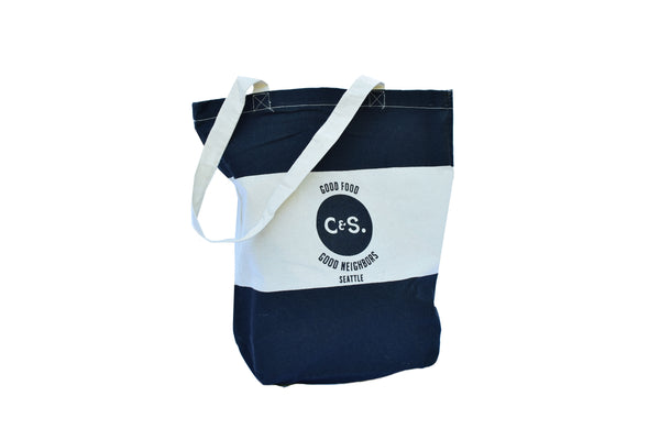 C&S  Canvas Tote
